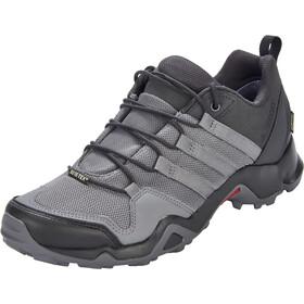 adidas TERREX AX2R GTX Shoes Men Carbon/Grey Four/Solar Slime